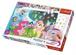 TREFL Puzzle 35 el. Kucyki i ptasie drzewo, My Little Pony (75116)