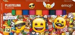 Plastelina Emoji Emotikony 12 kolorów (42243)
