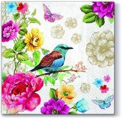 Serwetki dekoracyjne Bird Of Paradise PTASZEK 33x33 cm (SDL090600)
