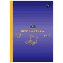 Zeszyt tematyczny przedmiotowy A5 60 kartek w kratkę INFORMATYKA (30171)