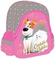Plecak przedszkolny, wycieczkowy THE SECRET LIFE OF PETS, Sekretne życie zwierzaków domowych (72080)