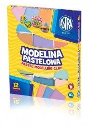 Modelina 12 kolorów pastelowa ASTRA (304118007)