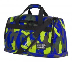 Torba sportowa CoolPack FITT niebiesko zielone moro, CAMOUFLAGE LIME (91770CP)