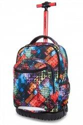 Plecak CoolPack SWIFT na kółkach w kolorowe bloki, BLOX (B04014)
