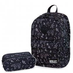 Zestaw Plecak CoolPack CROSS Piórnik POLAR BEARS 2 cz. (B26051SET)
