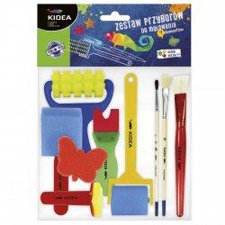 Zestaw 9 przyborów do malowania Kidea (Z9PMKA)