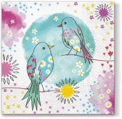 Serwetki dekoracyjne WELCOME TO PARADISE Witaj w raju 33x33 cm (SDL060100)