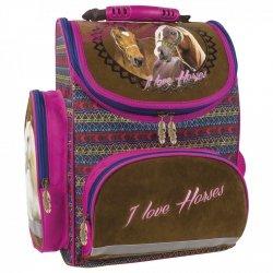 Tornister szkolny ergonomiczny I LOVE HORSES Konie (TEMBKO16)
