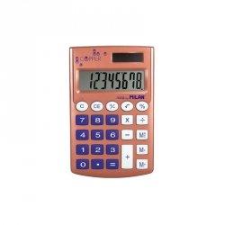 Kalkulator kieszonkowy SZKOLNY Milan Copper fioletowy (159506CP)