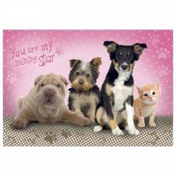 Podkład oklejany na biurko STAR ANIMALS (POSA01)