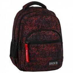 ZESTAW 3 el. Plecak szkolny młodzieżowy BackUP JAPOŃSKIE LITERY (PLB2M47SET3CZ)