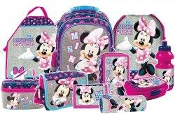 Plecak szkolny Myszka Minnie (PL15BMM21SET10CZ) ZESTAW 10 el.