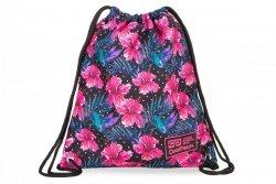 WOREK CoolPack SOLO w różowe kwiaty, BLOSSOM (B72102)