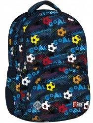 Plecak szkolny młodzieżowy ST.RIGHT gol, GOAL BP7 (22120)