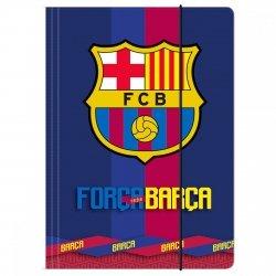 Teczka rysunkowa A4 z gumką FC BARCELONA (TGA4BC01)