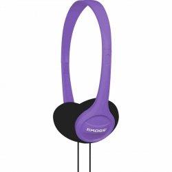 Słuchawki KOSS KPH7 fioletowe