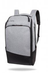Plecak męski na laptopa 13-15,6'' z USB Forge Gray Szary R-Bag (Z062)