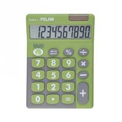 Kalkulator 10 pozycyjny Touch Duo zielony Milan (150610TDGRBL)