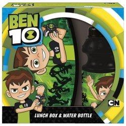 Zestaw bidon i śniadaniówka w kartoniku BEN 10 (ZSBBN10)