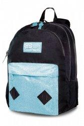 Plecak CoolPack HIPPIE czarny z niebieskim dodatkiem BLUE GLITTER (22370)