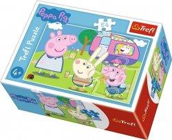 TREFL Puzzle mini 54 el. Świnka Peppa na festynie (19628)