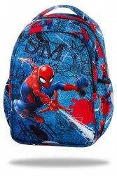 Plecak wczesnoszkolny CoolPack JOY S Spiderman na niebieskim tle, SPIDERMAN DENIM (B48304)