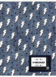 Zeszyt A5 w kratkę 60 kartek HEAD w błyskawice, LIGHTNING HD-364 (102019022)