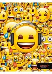 Zeszyt A5 w kratkę 60 kartek Emoji EMOTIKONY (42274)