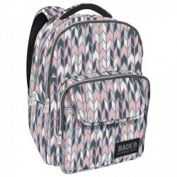 Plecak szkolny młodzieżowy BackUP ELEGANCKIE ZYGZAKI (PLB2L11)