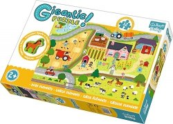 TREFL Gigantic puzzle 12 el. Na wsi (90753)