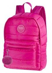 Plecak CoolPack miejski RUBY różowy, PINK + pompon (12577CP)