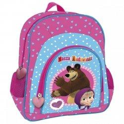 Plecak przedszkolny wycieczkowy MASZA I NIEDŹWIEDŹ (PL12MN13)