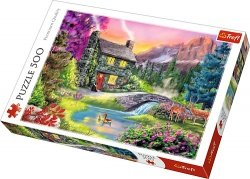 TREFL Puzzle 500 el. Górska sielanka (37325)