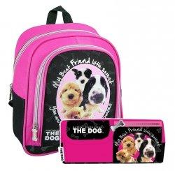 ZESTAW 2 el. Plecaczek przedszkolny + piórnik THE DOG z psem psami (PL10TD29)