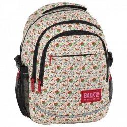 2e5a66bd95147 Plecak szkolny młodzieżowy BackUP ARBUZY (PLB2G60)