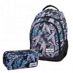 ZESTAW 2 el. Plecak CoolPack DRAFTER w palmy, PALMS (B05024SET2CZ)