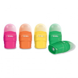 Temperówka z gumką 2w1 COLORINO KIDS (92654PTR)