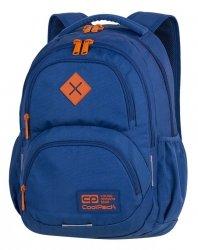 Plecak CoolPack DART niebieski z pomarańczowymi dodatkami TEAL/ORANGE (89371CP)