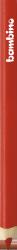 Kredka kredki BAMBINO w oprawie drewnianej CZERWONA (03646)