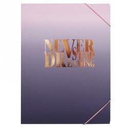 Teczka rysunkowa A4 z gumką Never Stop Dreaming INCOOD. (0106-0306)