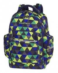 Plecak szkolny młodzieżowy COOLPACK BRICK kolorowe trójkąty, PRISM ILLUSION (81808CP)