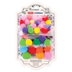 Kolorowe pompony Easy Creative 45 szt. (921782)
