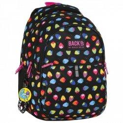 Plecak szkolny młodzieżowy BackUP TRUSKAWKI (PLB2N05)