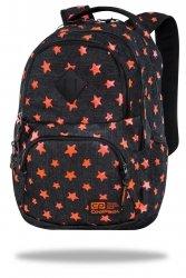 Plecak CoolPack DART 27 L pomarańczowe gwiazdy, ORANGE STARS (C19135)