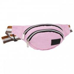 SASZETKA NERKA BackUP na pas torba CANVAS różowa (TBCB3A57)