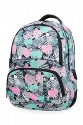 Plecak CoolPack SPINER w turkusowe serca, MINTY HEARTS (B01018)