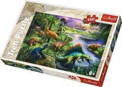 TREFL Puzzle 260 el. Dinozaury (13214)