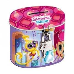 Skarbonka z kłódką owalna Shimmer & Shine (389504)