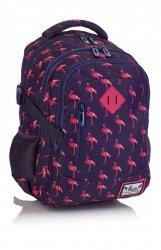 Plecak HASH w różowe flamingi, PINK FLAMINGO HS-87 (502019056)