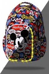 ZESTAW 3 el. Plecak CoolPack SPARK LED Myszka Mickey, MICKEY MOUSE (B45300SET3CZ)